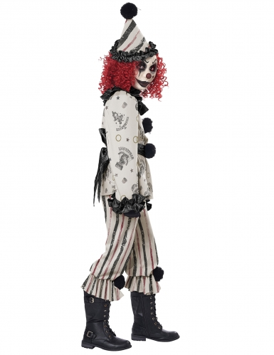 Déguisement clown sinistre enfant-2