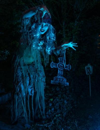 Déguisement sorcière vodoo de l'étang femme-3