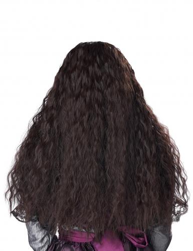 Perruque longue ondulée brune enfant-2