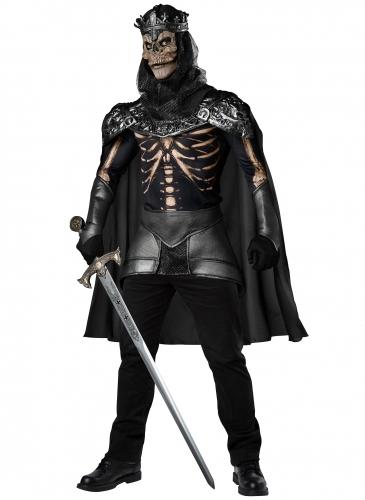 Déguisement roi squelette homme