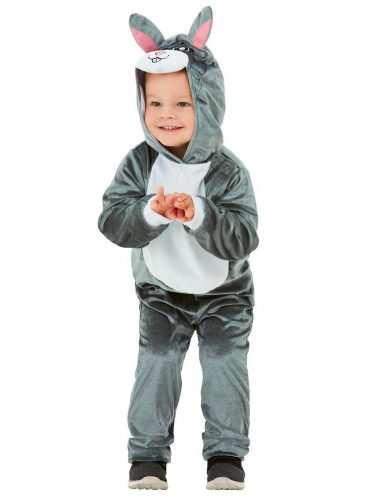 Déguisement lapin gris bébé-1