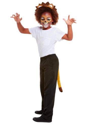 Kit maquillage et accessoires lion enfant-4