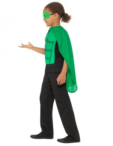 Kit super héros vert enfant-1