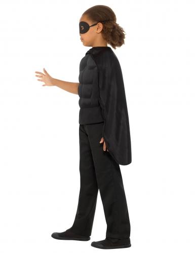 Kit super héros noir enfant-1