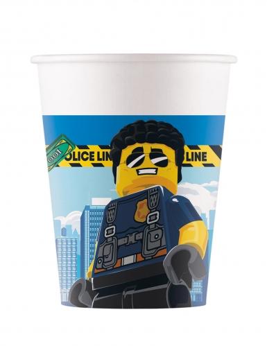 8 Gobelets en carton FSC® Lego City™ 200 ml