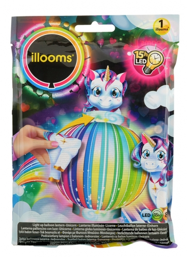 Lanterne LED licorne Illooms® 23 cm