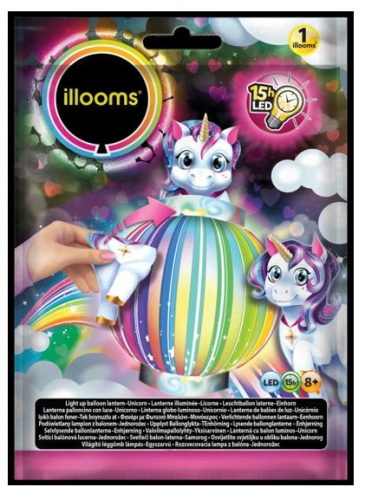 Lanterne LED licorne Illooms® 23 cm-1