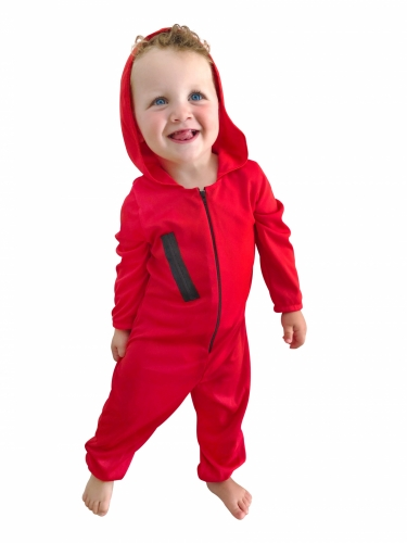 Déguisement voleur rouge bébé-1