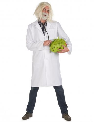 Déguisement blouse docteur savant adulte-1