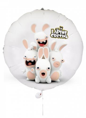 Ballon aluminium Lapins Crétins™ 40 cm