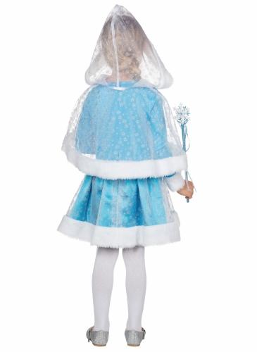 Déguisement princesse des neiges bleue fille-2
