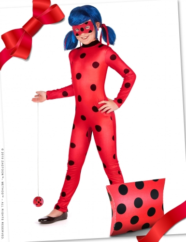 Kit cadeau déguisement et accessoires Ladybug™ fille