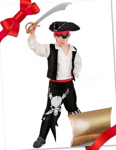 Coffret cadeau déguisement pirate avec accessoires enfants