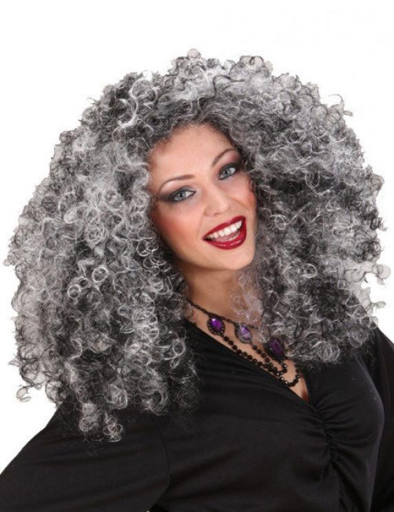 Perruque favorable pour Halloween sorcières perruque gothicperücke mardi gras perruque