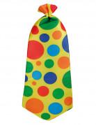 Cravate de clown pour adulte