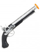 Pistolet de pirate enfant en plastique