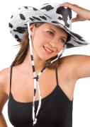 Chapeau de cowboy vachette pour adulte