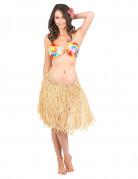 Jupe raphia Hawaï adulte