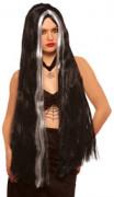 Perruque longue de sorcière femme
