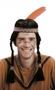 Perruque d'indien homme