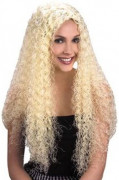 Perruque de Sirène blonde femme
