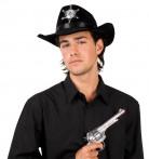 Chapeau sheriff noir adulte