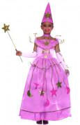 Déguisement fée des étoiles rose fille