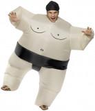 Déguisement sumo gonflable adulte