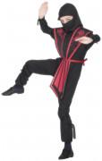 Déguisement ninja armure rouge garçon