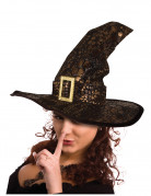Chapeau sorci�re serpent halloween adulte