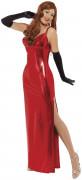 Déguisement cabaret  femme rouge sexy