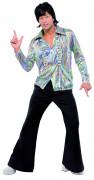 Déguisement disco années 70 wavy homme