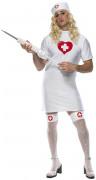 Déguisement infirmière homme