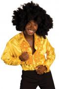 Déguisement disco homme jaune