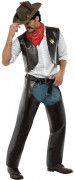 Cowboy-Kost�m der Village People f�r Herren