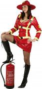 Déguisement pompiere sexy femme