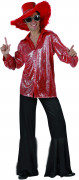 D�guisement disco rouge homme