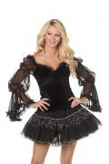 Bustier sorcière femme Halloween