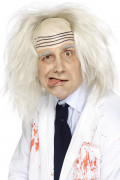 Perruque docteur fou homme