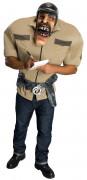 D�guisement policier Big Bruizer homme