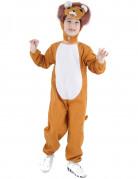 Déguisement lion marron et blanc enfant