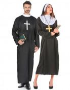 Déguisement couple de religieux
