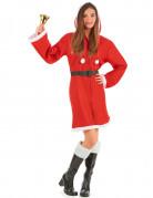 Manteau Noël femme