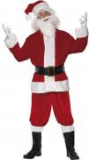 Déguisement Père Noël adulte luxe
