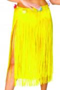 Jupe hawaïenne jaune adulte