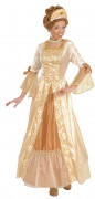 Golden princess dress for women
