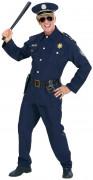 Déguisement policier bleu marine homme