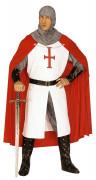 Déguisement chevalier médiéval à la croix homme