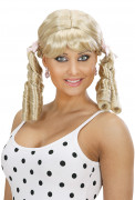 Perruque blonde lolita femme