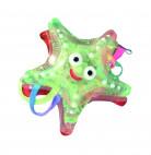 Collier étoile scintillante